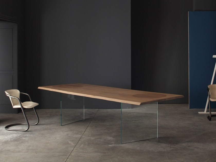 Wooden kitchen table TIMBER | Solid wood table - Devina Nais
