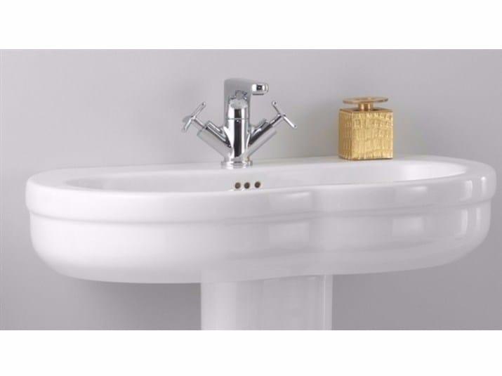 Ceramic washbasin TIME 75 CM | Washbasin - GSG Ceramic Design