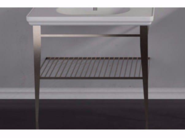 Brass console sink TIME | Console sink - GSG Ceramic Design