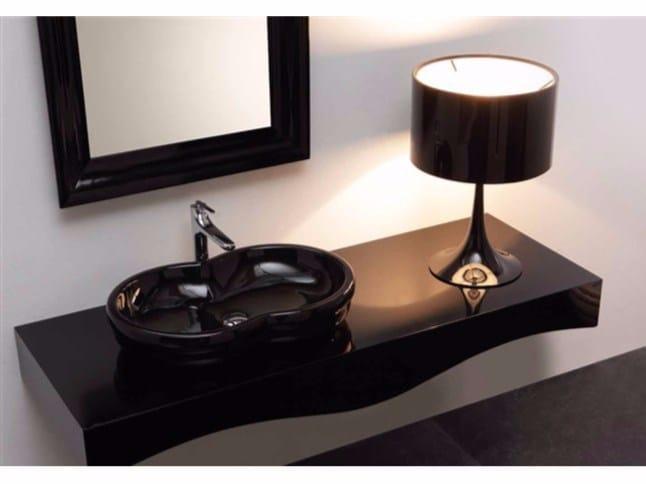 Countertop ceramic washbasin TIME | Countertop washbasin - GSG Ceramic Design