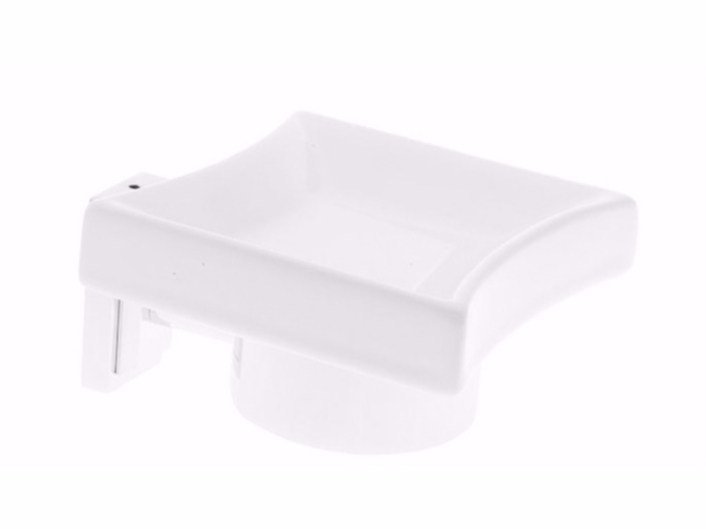 Wall-mounted ceramic soap dish TIME | Soap dish - GSG Ceramic Design