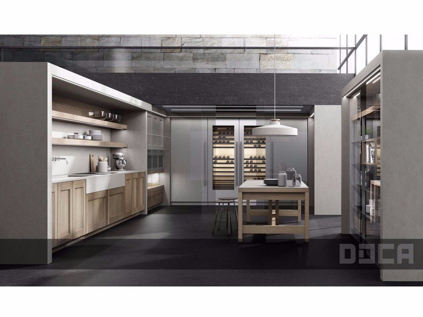 Fitted kitchen TIMELESS CASTAÑER FERNOR - Doca