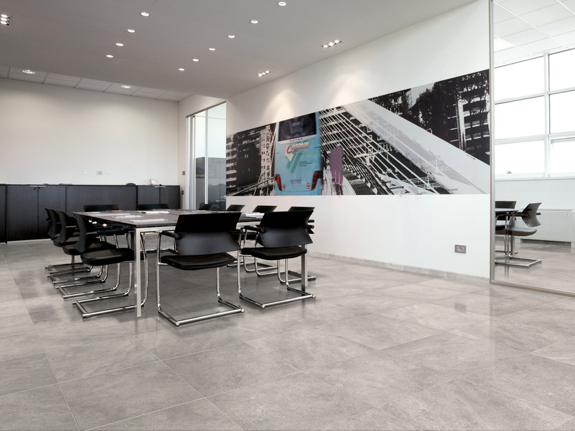 Glazed stoneware flooring TIMELESS STONE | Flooring - Ceramica Cercom