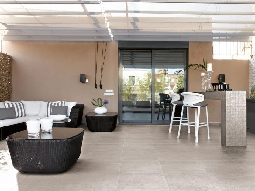 Glazed stoneware outdoor floor tiles TIMELESS STONE | Outdoor floor tiles - Ceramica Cercom