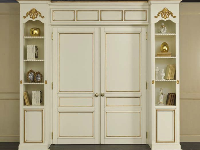 Hinged solid wood door TINTORETTO | Door - Arvestyle