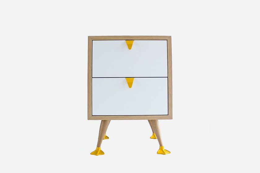 Bedside table with drawers TIO - Galula