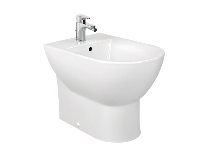 Ceramic bidet with overflow TIPO | Ceramic bidet - ROCA SANITARIO