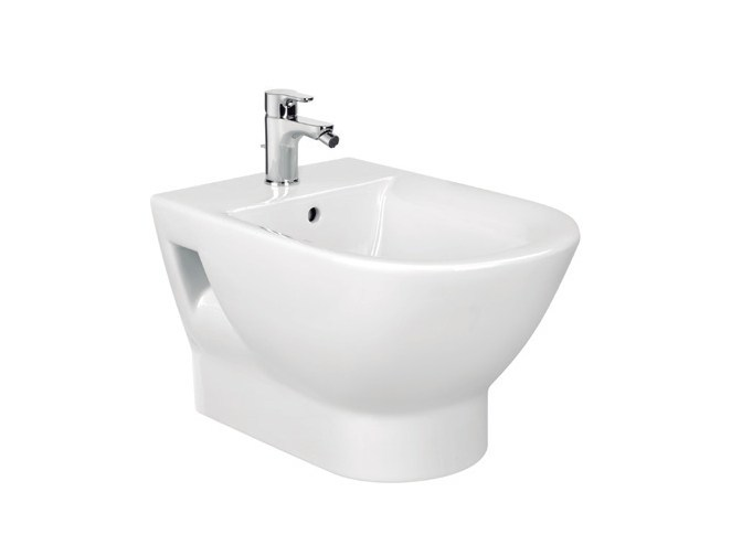 Tipo bidet sospeso by roca sanitario design antonio bullo for Architec bidet sospeso