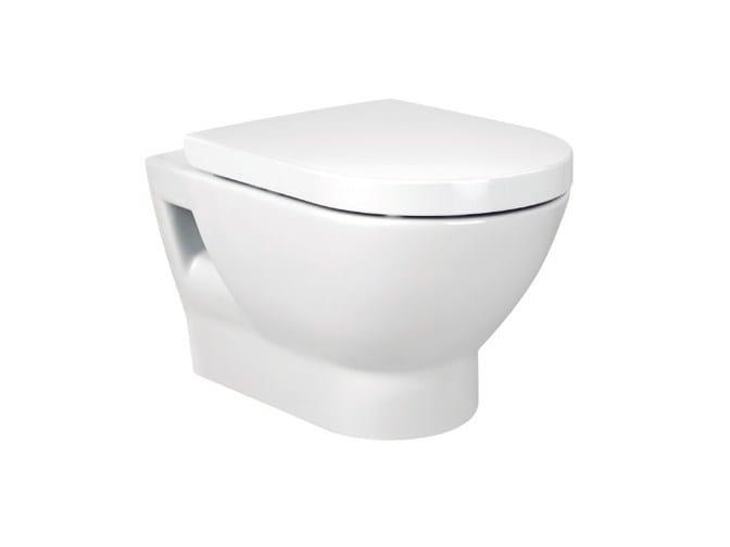 Wall-hung ceramic toilet TIPO | Wall-hung toilet - ROCA SANITARIO