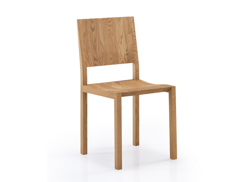 Solid wood chair TISCHLEIN | Solid wood chair by Oliver B.