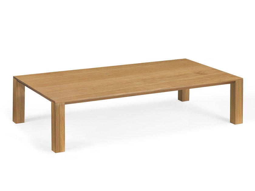Low rectangular coffee table TISCHLEIN | Rectangular coffee table - Oliver B.
