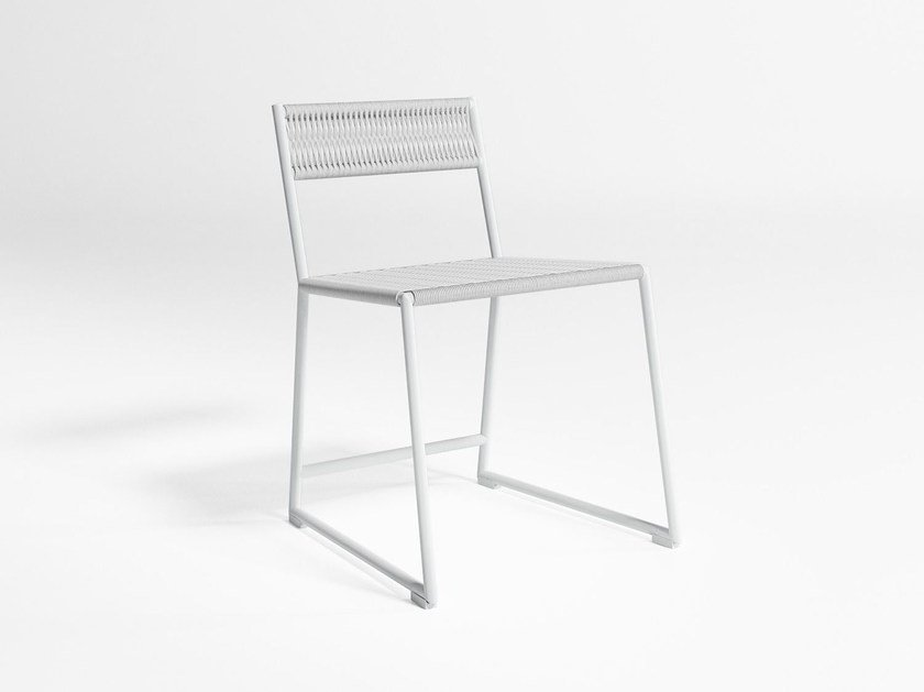 Sled base garden chair TITUNA | Garden chair - GANDIA BLASCO