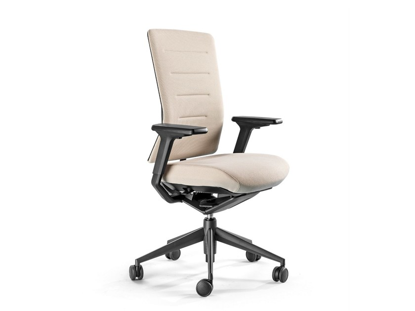 Recliner fabric task chair with 5-Spoke base TNK FLEX | Fabric task chair - ACTIU