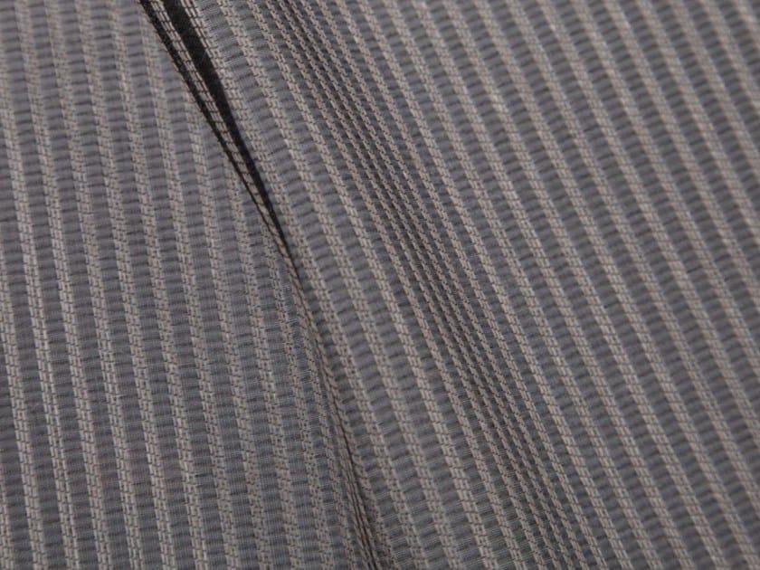 Tessuto a righe in fibra sintetica per tende TOKIO - Gancedo