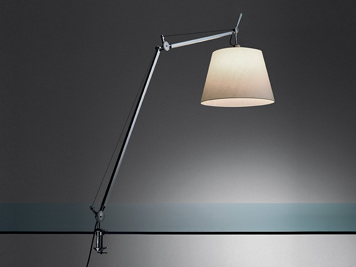 Japanese paper clamp light TOLOMEO TABLE MEGA - Artemide