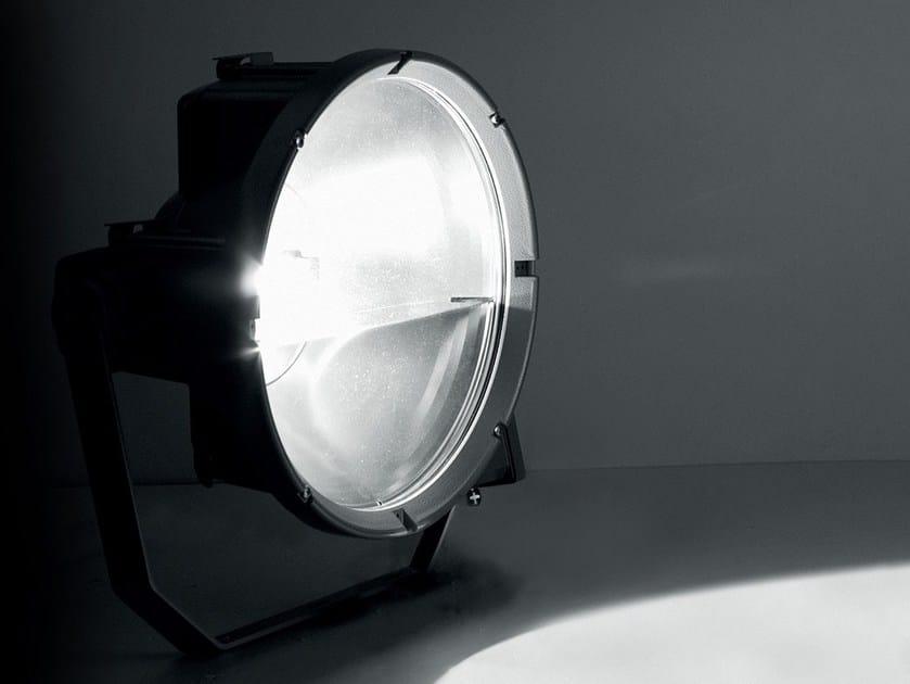 Die cast aluminium Outdoor floodlight TOLONE by LANZINI