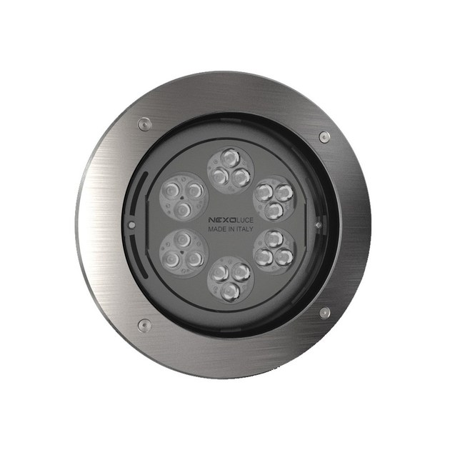 LED walkover light steplight TONDO 18 by NEXO LUCE