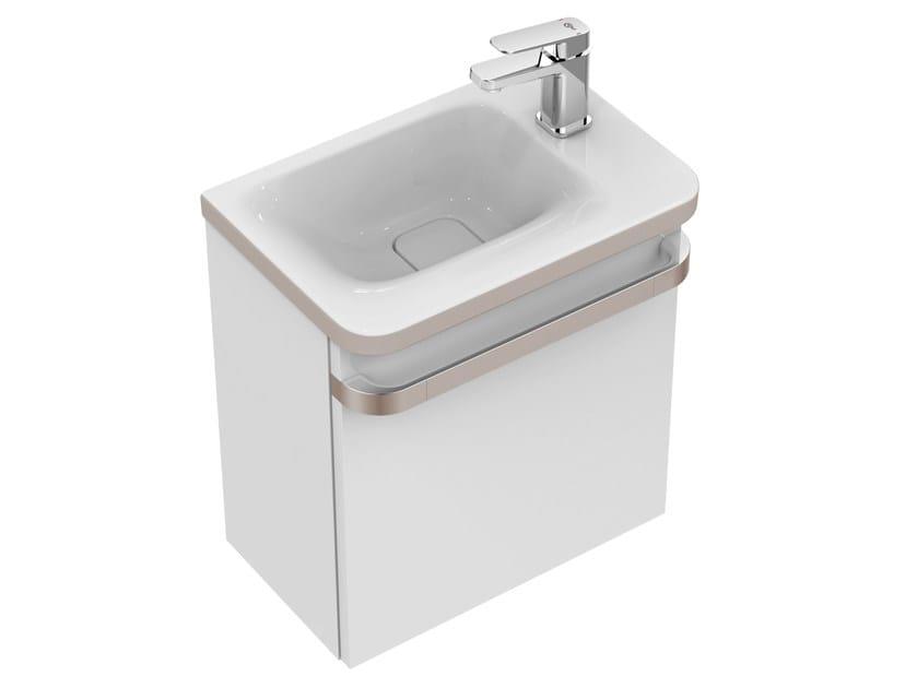 mobile lavabo singolo sospeso con cassetti tonic ii 45 cm r4318 ideal standard
