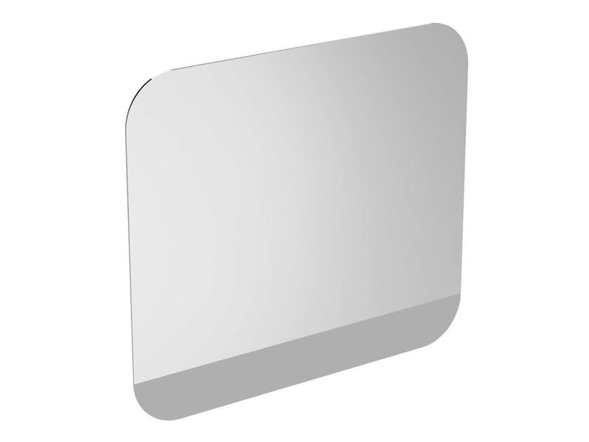 Wall-mounted bathroom mirror with integrated lighting TONIC II 80 cm - R4346 - Ideal Standard Italia