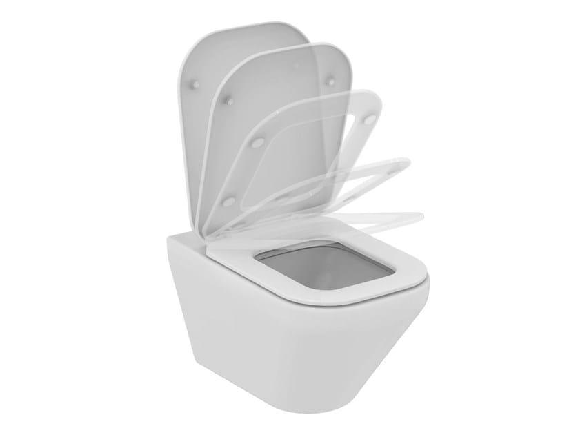 Wall-hung ceramic toilet TONIC II - K3167 - Ideal Standard Italia