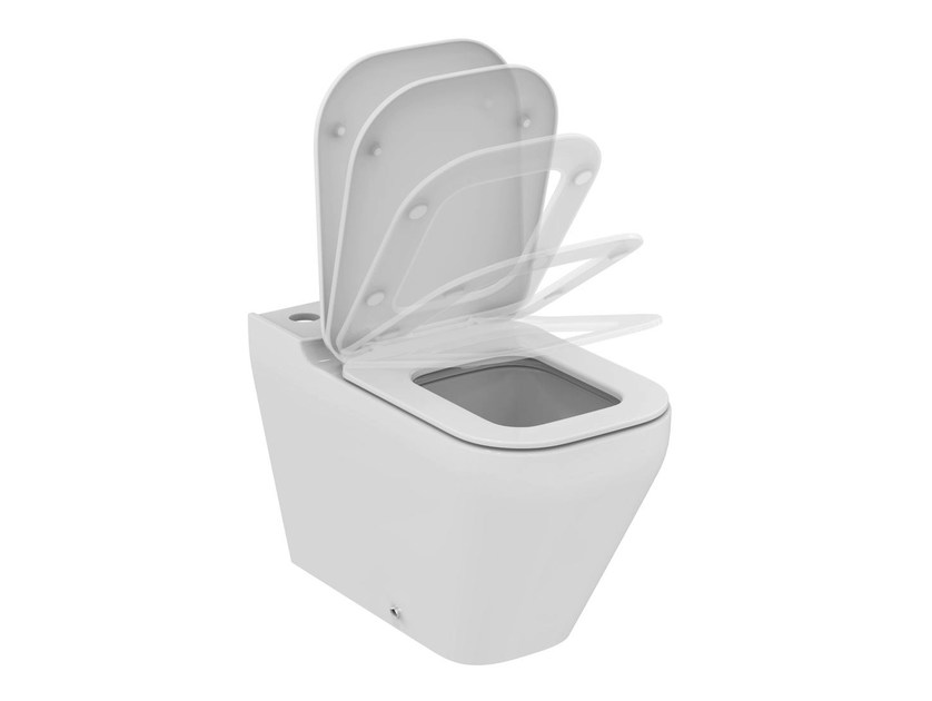 Ceramic toilet TONIC II - K3169 - Ideal Standard Italia