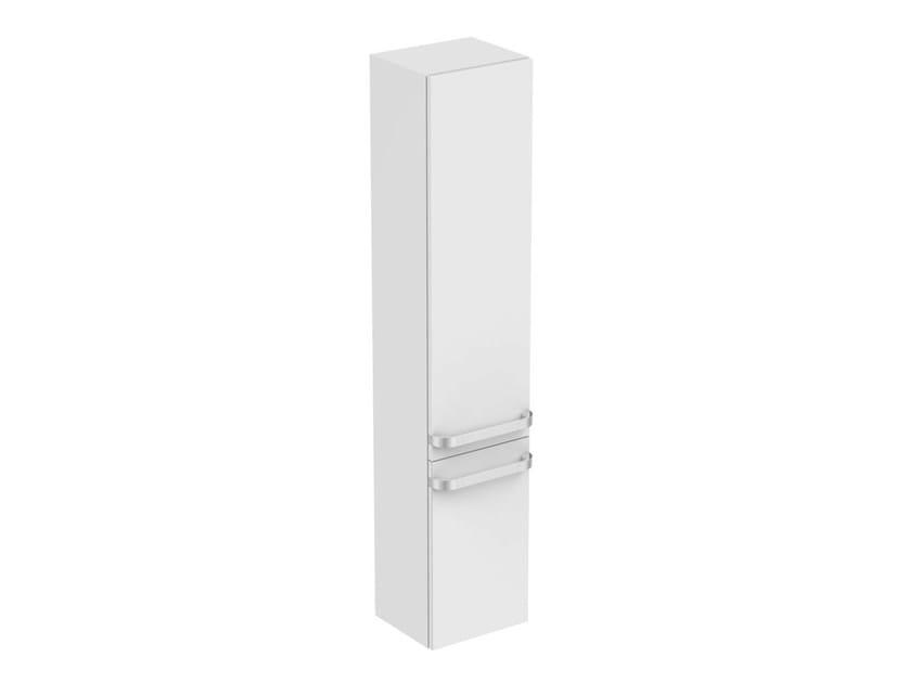 Tall bathroom cabinet with doors TONIC II - R4319 - Ideal Standard Italia