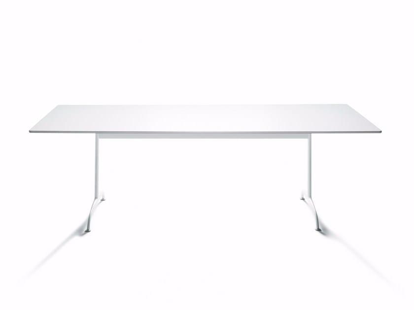 Rectangular HPL table TOOLS - DE PADOVA