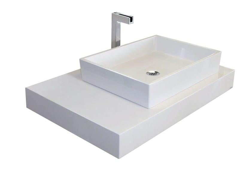 Piano lavabo in Pietraluce® TOP by Technova