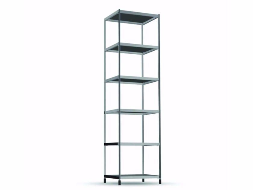 Open aluminium bookcase TOR005 - SEC_tor005 - Alias