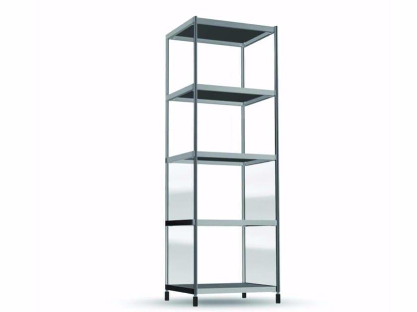 Open methacrylate bookcase TOR007 - SEC_tor007 - Alias