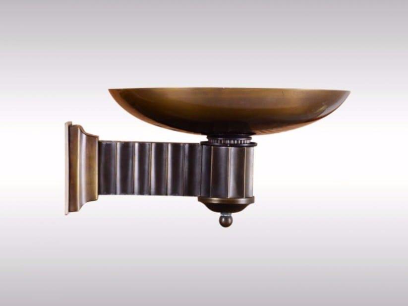 Brass wall lamp TORCH - Woka Lamps Vienna