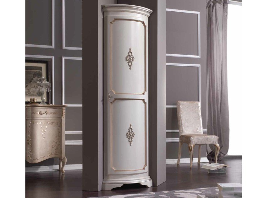 Lacquered highboard with doors TORINO | Highboard - Arvestyle