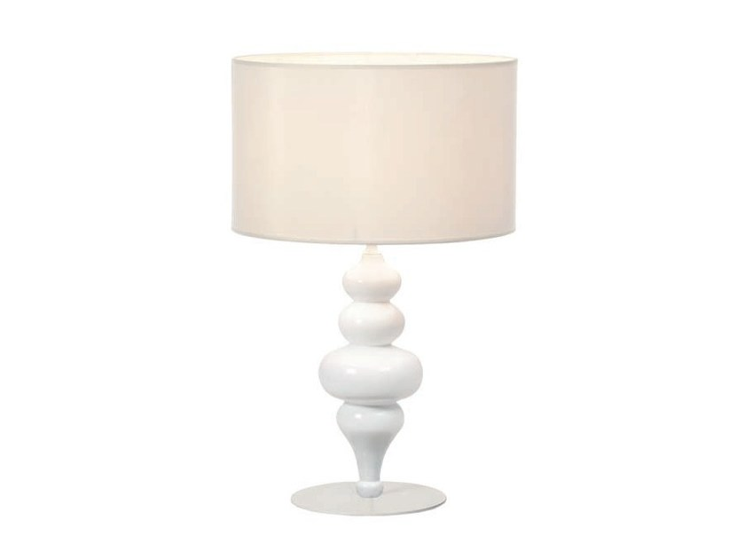 Wooden table lamp with fixed arm TORNO | Wooden table lamp by Aromas del Campo
