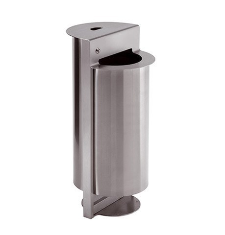 Waste bin with ashtray TORRE - Caimi Brevetti
