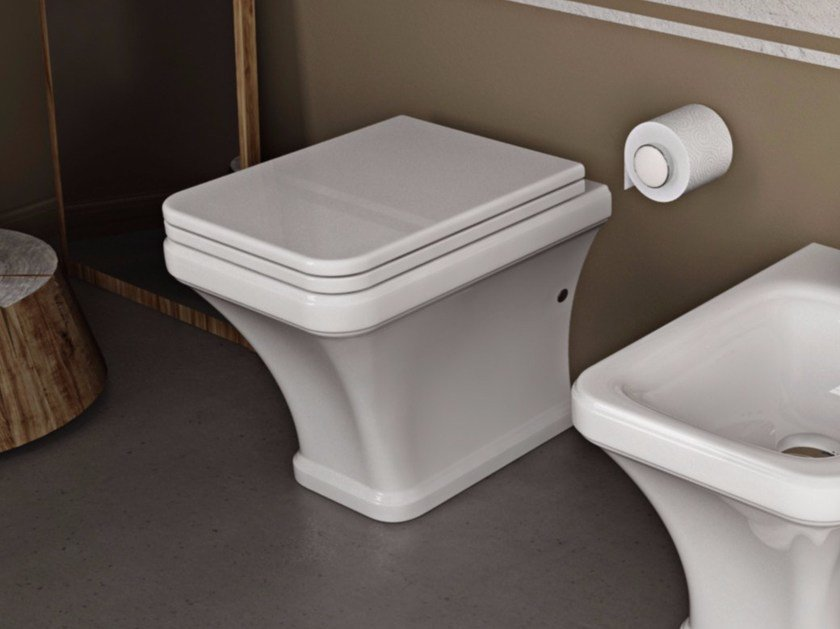 Ceramic toilet TOSCA | Toilet by Hidra Ceramica