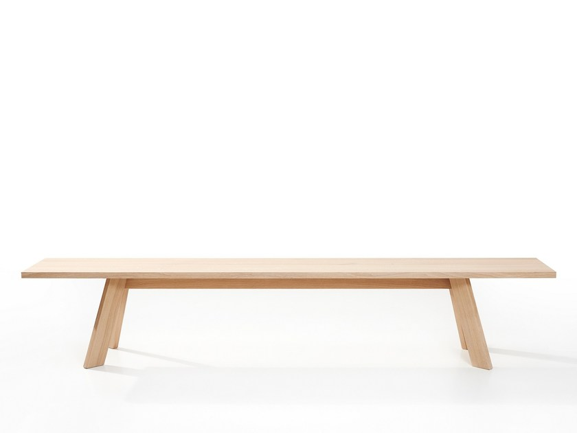 Wooden bench TOSH | Wooden bench by more