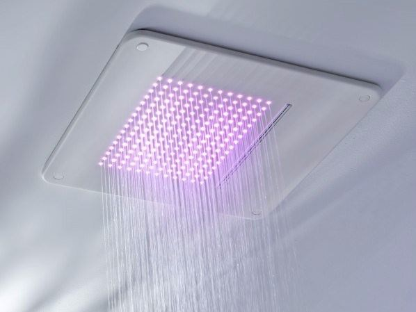 Ceiling mounted rain shower TOUCH | Ceiling mounted overhead shower - Systempool