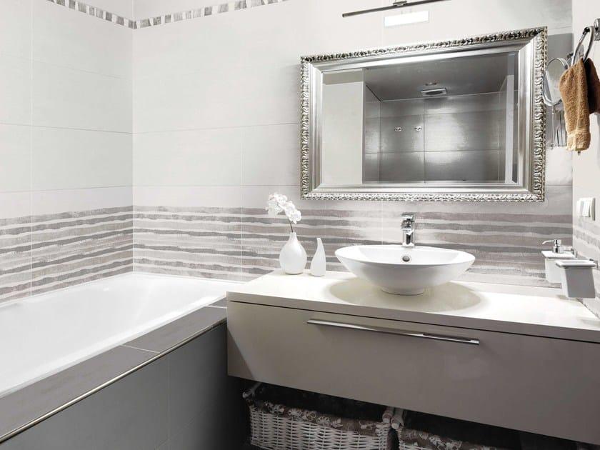 Double-fired ceramic wall tiles TOUCH REFLEX - CERAMICHE BRENNERO