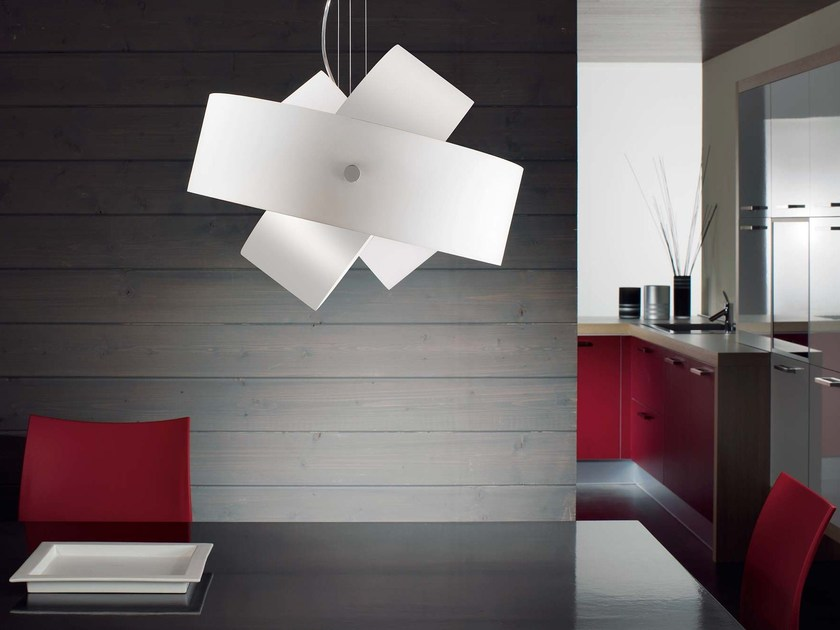 Blown glass pendant lamp TOURBILLON | Pendant lamp - PANZERI