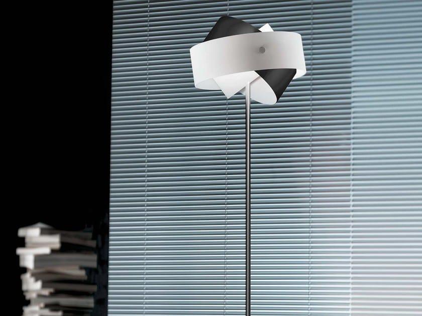 Blown glass floor lamp TOURBILLON | Floor lamp - PANZERI