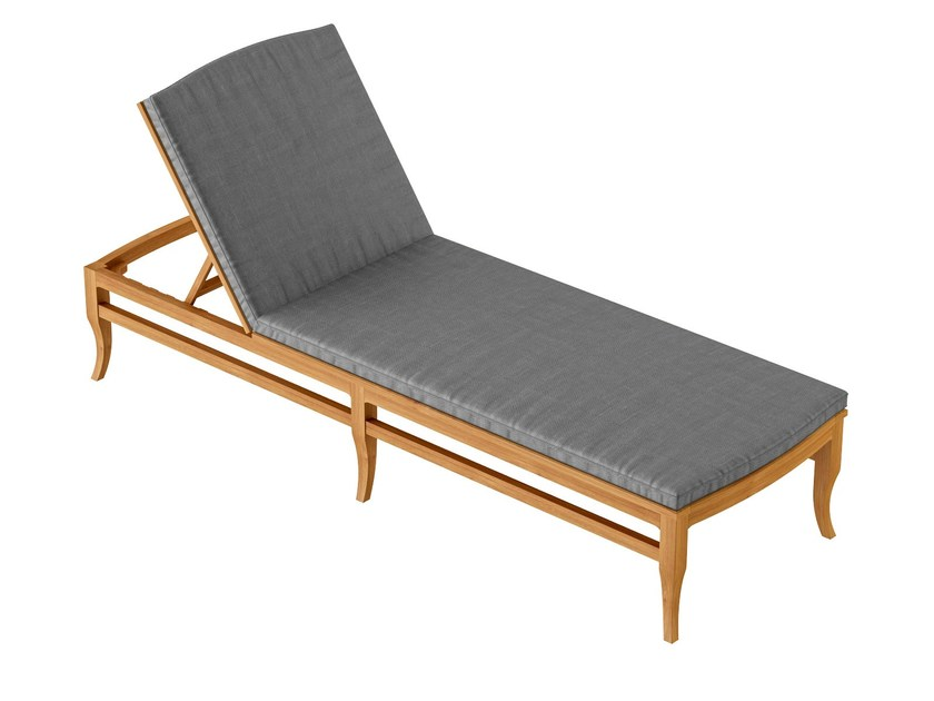 Deco Recliner teak garden daybed TOURNESOL | Recliner garden daybed - ASTELLO