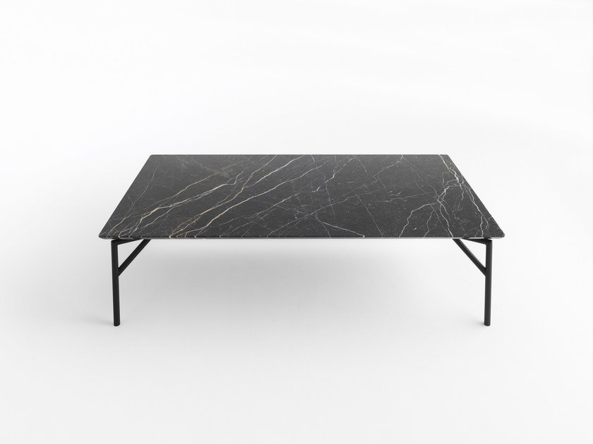 Marble coffee table TOUT LE JOUR | Coffee table by horm