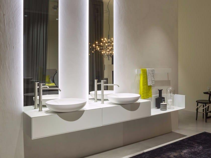 Bathroom furniture set TRACCIA by Antonio Lupi Design