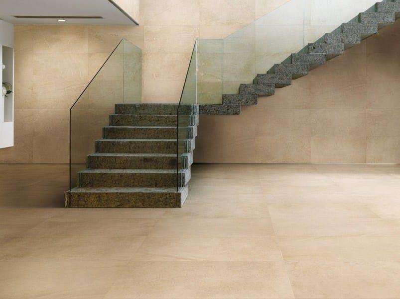 Wall/floor tiles TRACKS BEIGE - CERAMICA FONDOVALLE