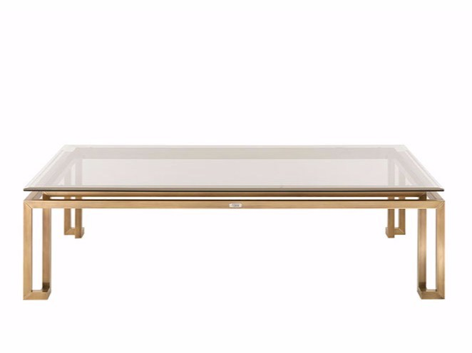 Rectangular coffee table for living room TRAFALGAR | Rectangular coffee table - Gianfranco Ferré Home