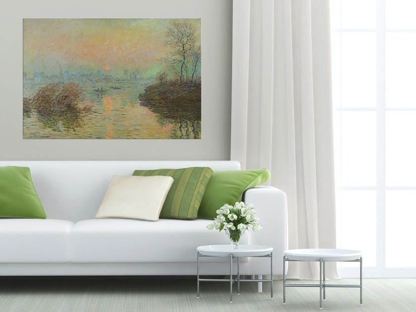 Canvas print TRAMONTO SULLA SENNA COD. 400131 - MyCollection.it