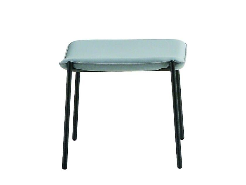 Upholstered pouf TRAMPOLIERE | Pouf - Midj