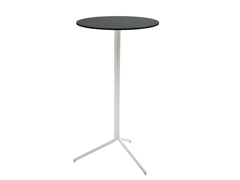Round high table TRAMPOLIERE | High table by Midj