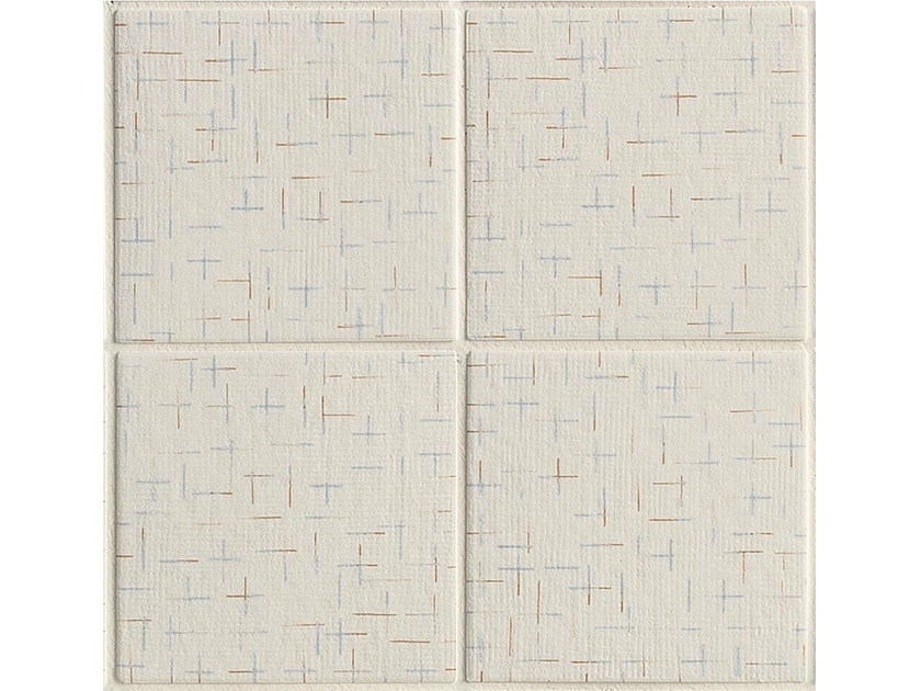 Porcelain stoneware wall/floor tiles TRATTI CROIX by MUTINA
