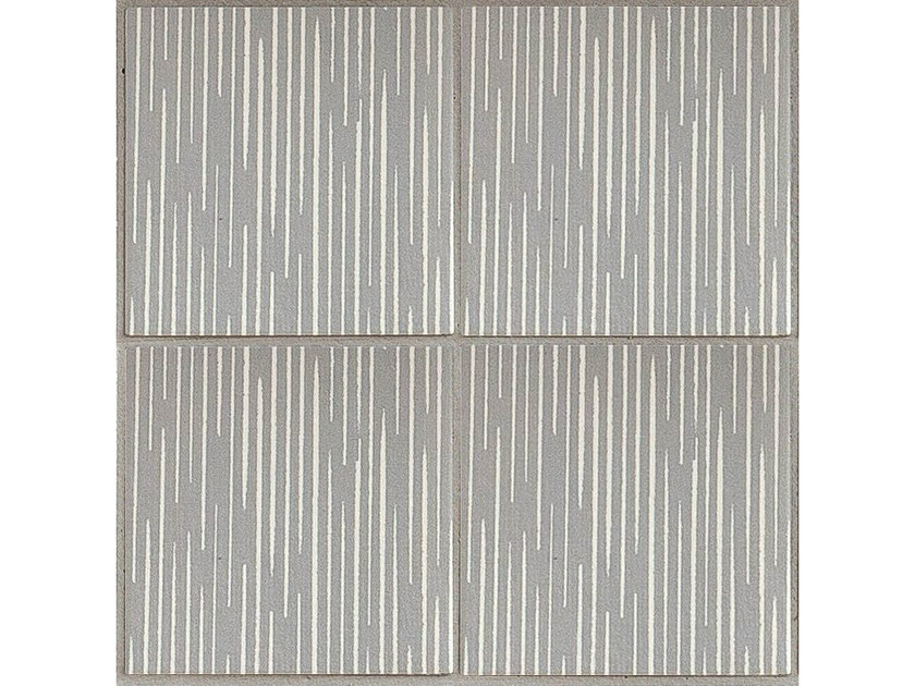 Porcelain stoneware wall/floor tiles TRATTI LIGNE by MUTINA